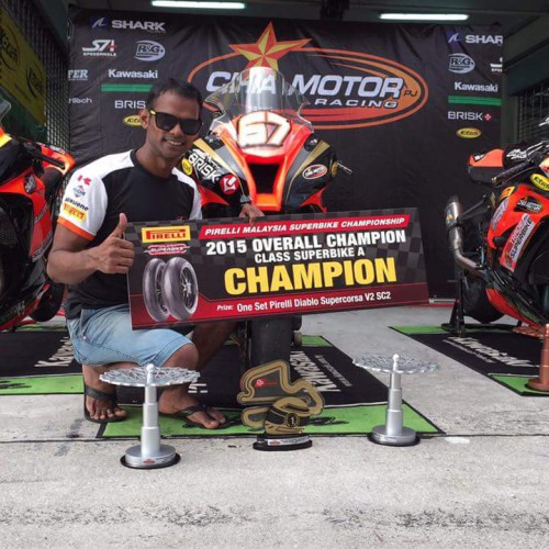 MSBK Superbike Group A Overall Championship 2015